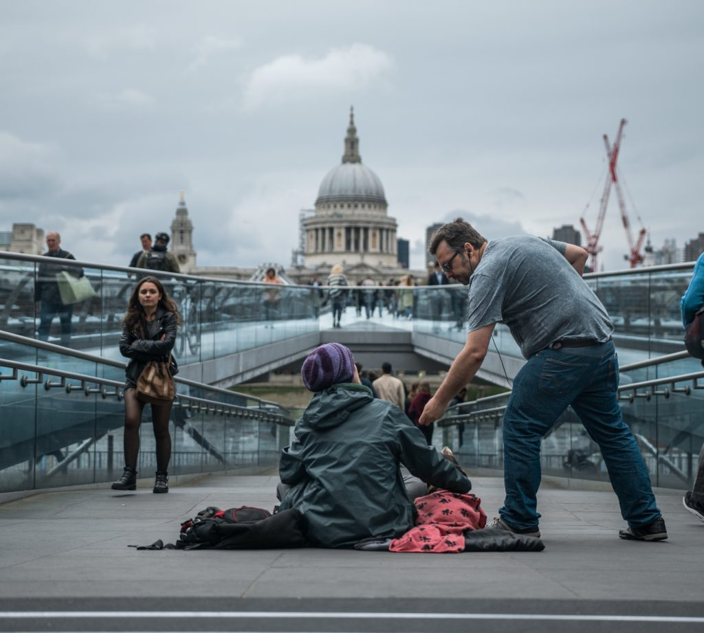 A Crowdfunding Site For Homeless People In The UK